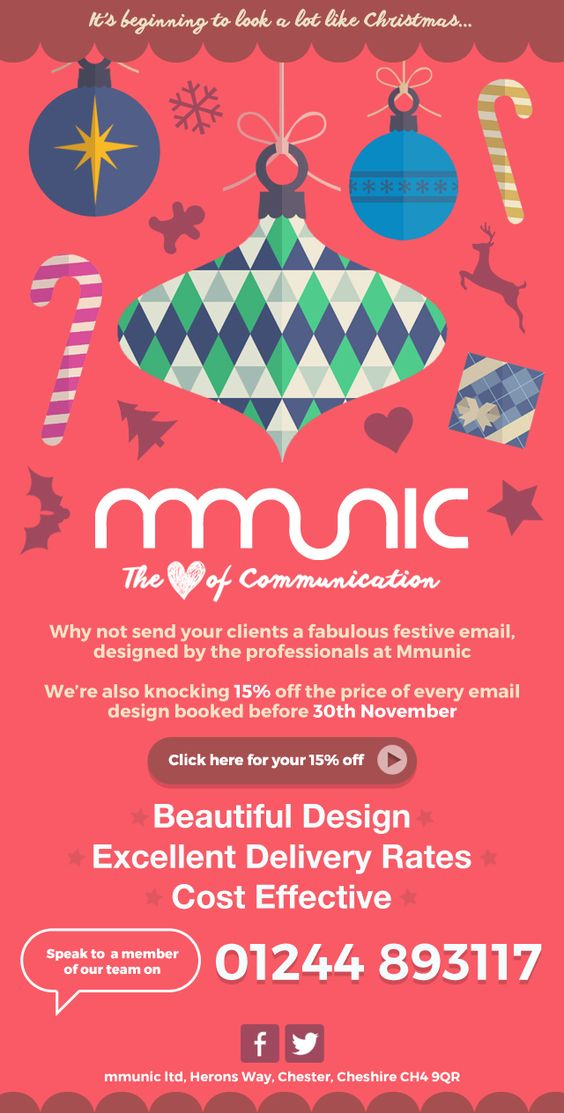 mmunic Christmas build up